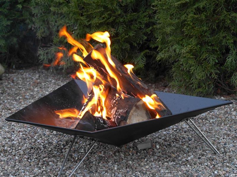 Vasner Merive 3 Feuerschale Feuerkorb für den Garten oder Terrasse