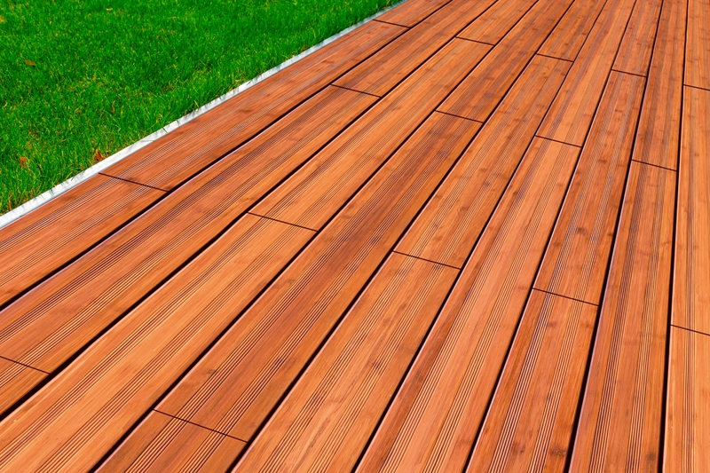 Terrassendielen Bambus ambooo terrassendielen bambus supreme farbe coffee - maße: 2400x200x20