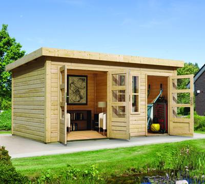 Gartenhaus günstig kaufen - Holz Gartenhaus in verschiedenen ...