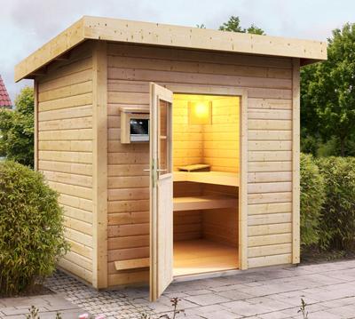 Bevorzugt Sauna kaufen: moderne Heimsauna, Gartensauna, Infrarotkabine WF53