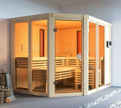 Fabulous Sauna kaufen: moderne Heimsauna, Gartensauna, Infrarotkabine JJ55