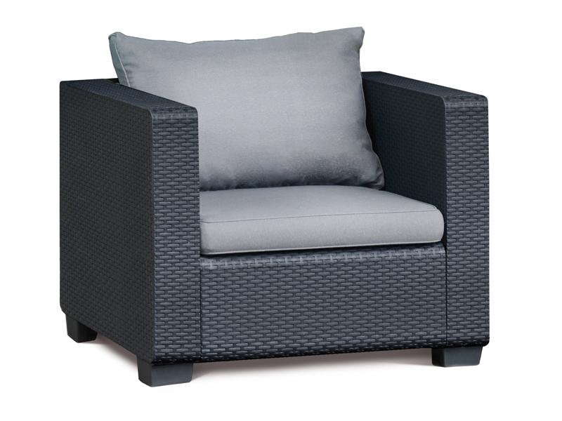 Best Gartenmöbel-Set Lounge-Gruppe Burano 4-tlg. inkl. Sitzauflagen ...