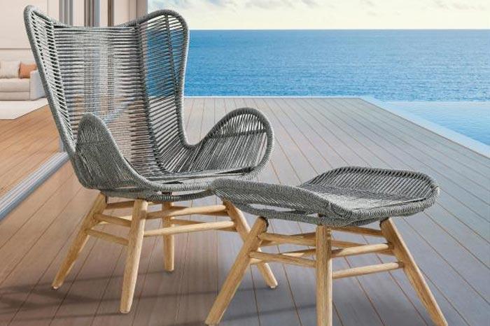 gartenm bel aus fishbone geflecht online direkt bestellen. Black Bedroom Furniture Sets. Home Design Ideas