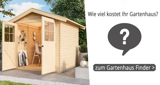 Gartenhaus Finder