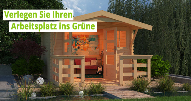 Gartenhaus Homeoffice