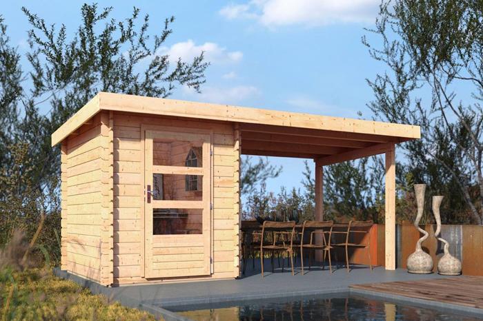 Beliebt Gartenhaus günstig kaufen - Holz Gartenhaus in verschiedenen Größen UH22