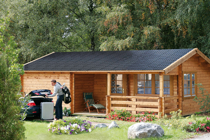 Häufig Gartenhaus günstig kaufen - Holz Gartenhaus in verschiedenen Größen XV02