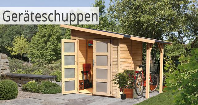 Favorit Gartenhaus günstig kaufen - Holz Gartenhaus in verschiedenen Größen AI44