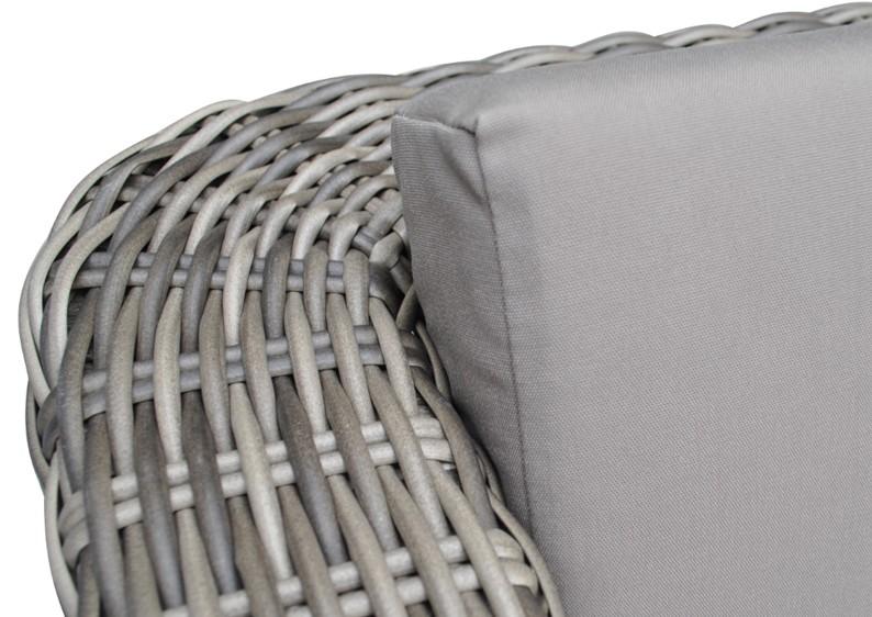 Lounge sessel rattan grau  Rattan Loungeelement Turino Sessel - Farbe: grau-braun meliert