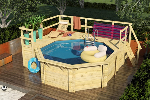 Swimming Pool Holz