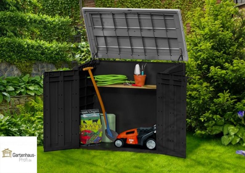 Tepro Kunststoff Aufbewahrungsbox Schrank Store It Out Max