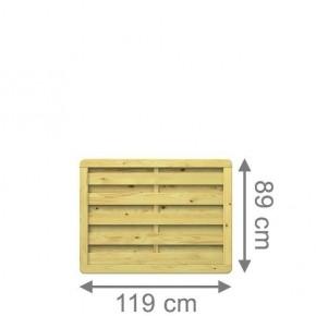 TraumGarten Sichtschutzzaun XL Rechteck kdi - 117 x 89 cm