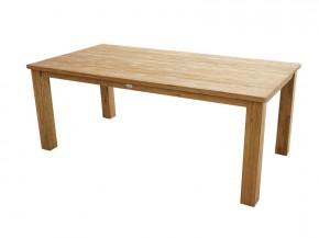 Ploss Gartenmöbel Rustikal Dining-Tisch Picton in Old-Teak 200 x 100 x 75 cm