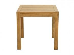 Ploss Gartenmöbel Gartentisch rechteckig New Haven aus Premium-Teak  80 x 80 x 77 cm