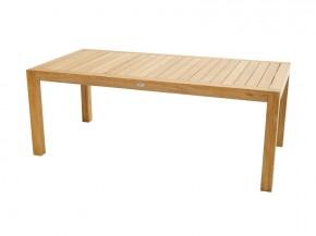 Ploss Gartenmöbel Gartentisch rechteckig New Haven aus Premium-Teak  200 x 100 x 77 cm