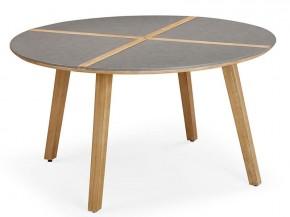 Best Gartentisch Barletta 140cm rund Grandis/betongrau
