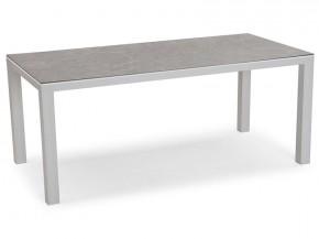 Best Tisch Houston 160x90cm silber/anthrazit