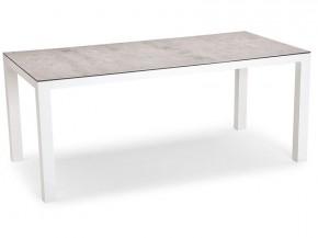 Best Tisch Houston 210x90cm weiss/silber