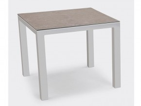 Best Tisch Houston 90x90cm silber/anthrazit