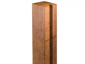 aMbooo Sichtschutzzaun Pfosten Deluxe Bambus Anfang/Ende = 1 Nut