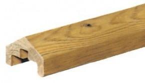TraumGarten Aufsatzleiste Nadelholz kdi für gerade Elemente Holz - 6,8 x 180 cm