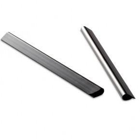 Doppelstabgitterzaun Sichtschutzzaun Klemmschiene (L: 190 mm x B:15 mm)  VPE 25 Stück - schwarz RAL 9005