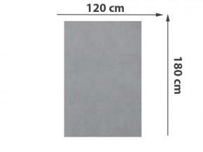 TraumGarten Sichtschutzzaun System Keramik Rechteck Zement - 90 x 180 x 0,6 cm