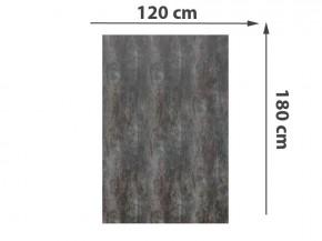 TraumGarten Sichtschutzzaun System Keramik Rechteck Darknight - 120 x 180 x 0,6 cm
