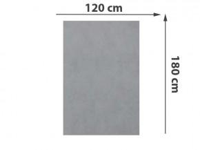 TraumGarten Sichtschutzzaun System Keramik Rechteck Zement - 120 x 180 x 0,6 cm