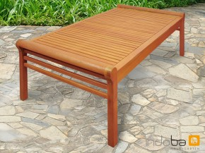 Gartenmöbel Gartentisch/Loungetisch Samoa - rechteckig aus Eukalyptus