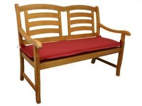 Gartenmöbel Bankauflage Premium extra dick - Farbe: rot