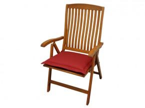 Gartenmöbel Sitzkissen Premium extra dick - Farbe: rot