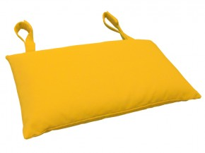 Gartenmöbel Kopfkissen Premium extra dick - Farbe: gelb