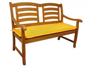 Gartenmöbel Bankauflage Premium extra dick - Farbe: gelb