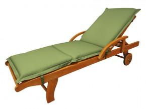 Gartenmöbel Liegenauflage Premium extra dick - Farbe: grün