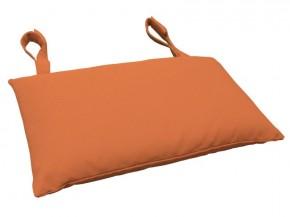 Gartenmöbel Kopfkissen Premium extra dick - Farbe: terra