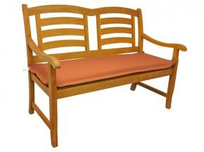 Gartenmöbel Bankauflage Premium extra dick - Farbe: terra