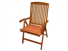 Gartenmöbel Sitzkissen Premium extra dick - Farbe: terra