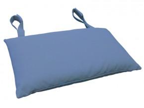 Gartenmöbel Kopfkissen Premium extra dick - Farbe: blau