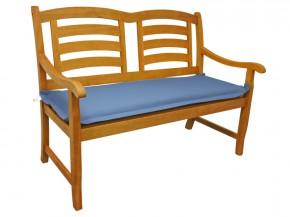 Gartenmöbel Bankauflage Premium extra dick - Farbe: blau