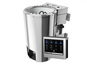 Aktion-Bio-Kombi-Saunaofen: 3,6 kW inkl. Steuergerät für finnische Saunaöfen 230 V Plug & Play inkl. Saunasteine