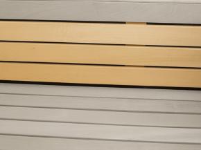 Sauna Zwischenbankverkleidung 186 cm Garten-Freunde