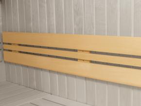 Sauna Rückenlehne 185 cm Garten-Freunde