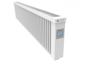AeroFlow Elektroheizung Slim 2000 mit Schamottekern app-ready FlexiSmart-Displayregler (Android, iOS) elektrische Zusatzheizung, Nachtspeicher Ersatz