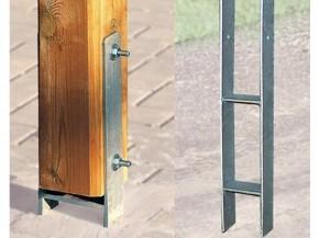 WEKA H-Anker-Set (4 x Anker 12 x 12) für Y-Carport