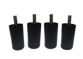Garden Select Turino Lounge Fuß für höhere Sitzhöhe - Farbe: schwarz
