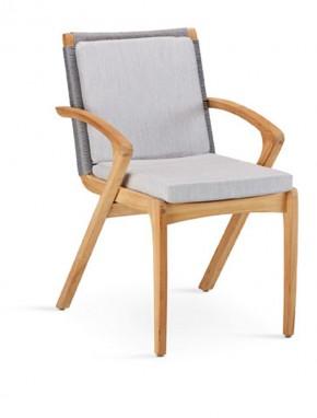 Best Rückenkissen für Dining-Sessel Agadir, mit Reißverschluss 40 x 39 x 3 cm