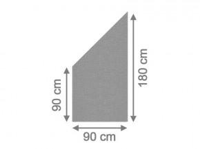 TraumGarten Sichtschutzzaun System Glas Texta Anschluß links - 90 x 180/90 x 0,8 cm