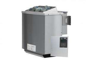 Karibu Bio-Kombiofen 4,5 kW inkl. Steuergerät Classic bio + 18 kg Diabas-Steinen + Anschlusskabel
