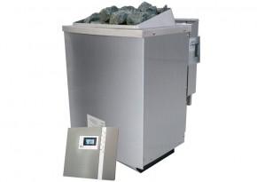 Karibu Bio-Kombiofen 9 kW - inkl. ext. Steuerung Premium (Kabel A und D notwendig)